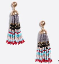 Earrings! Sold OutNew$42.50 Multicolored J.Crew Factory Colorful Beaded Tassel