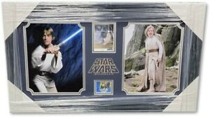 Mark Hamill Signed Autograph Framed Photo Cut Star Wars Luke Skywalker GV890349