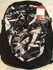 New north face borealis backpack - Black Graffiti Print - New