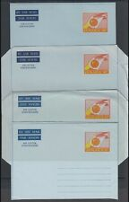 JAMAICA AIRMAIL AEROGRAMMES (x9) POSTAL STATIONERY (ID:621/D57393)