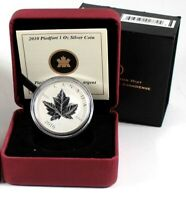 2010 Canada  $5 Piedfort Pure Silver Maple Leaf - Free tracked shipping! #36120