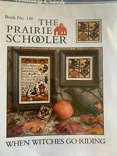 When Witches Go Riding Cross Stitch Chart by Prairie Schooler