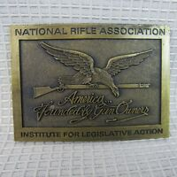 NRA Belt Buckle America Founded by Gun Owners National Rifle Association