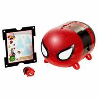 Disney Tsum Tsum Marvel Spiderman Stack n Display Set Black Edition New In Box