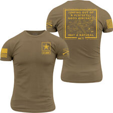 Grunt Style Army - Jump T-Shirt - Military Green