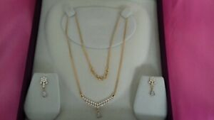 22ct/916 Yellow Gold Jewellery Set 9.63g Boxed NEW