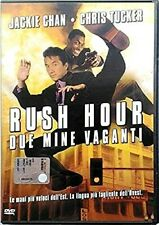 RUSH HOUR - DUE MINE VAGANTI (1998) - Jackie Chan - DVD EX NOLEGGIO - WARNER