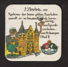 Edad BD, cerveza tapa, Coaster, cervecería de Koninck, antwerben/Bélgica