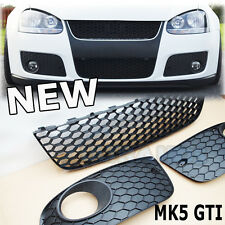 VW Golf MK5 GTI 2004 TO 2008 Front Lower Grille Centre Sides Set Mesh Complete