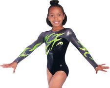 New! Child Large Infinity Gymnastics Comp Leotard by Snowflake Designs