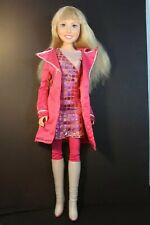 """Disney - HANNAH MONTANA - 22"""" doll in original Hot Pink Outfit & Boots - Used"""