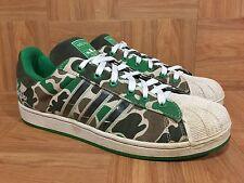 RARE🔥 Adidas Superstar II 2 G5 Adicolor Originals Army Camo Green Forest 11.5