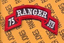 75th Infantry Regiment Special Troops Bn STB AIRBORNE RANGER scroll patch c/e