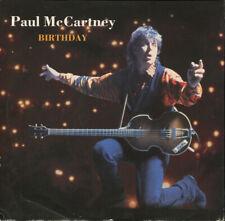 "Paul McCartney – Birthday. 12"" Picture Sleeve. Near Mint"