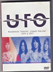 UFO ROUNDHOUSE THEATRE DVD LONDON ENGLAND 1975 + 1977 - DVD RARE
