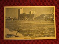 1940'S. BEACH FRONT AT DURBAN. POSTCARD E2