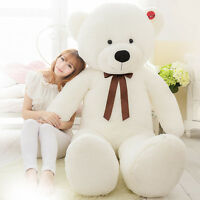 "Big Stuffed Teddy Bear Plush Doll Brand Soft Toys! 63"" Giant Huge Large 160cm uk"