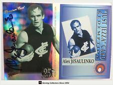 1995 Select AFL Series 2 Just Jezza Foil Jj5 Alex Jensaulenko