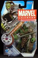 "2011 HASBRO MARVEL UNIVERSE SERIES 3 WORLD WAR HULK 003 3 3/4"" ACTION FIGURE MOC"