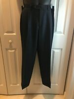 Lauren Ralph Lauren Women's Black Straight Comfort Dress Pants Size P 36W x 29L