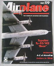 Airplane Issue 119 Tupolev Tu-95/142 'Bear' poster, Junkers Ju 188 cutaway