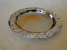 Chrom Schale für Obst  Deko Silber verchromt ⌀ 25,5 cm Neu Metall