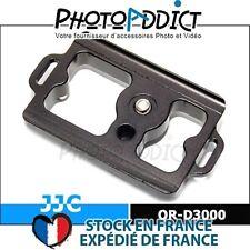 JJC QR-D3000 - Plateau rapide compatible Arca-Swiss pour Nikon D3000