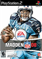 Madden NFL 08 (PlayStation 2 PS2) - DISC ONLY