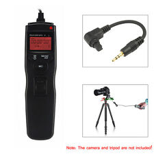 LCD Timer Remote Control Shutter Release for Canon EOS 5DIII 50D 40D 6D Camera