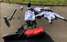 Fencing Gear - Complete Set - Female - Absolute Fencing and Blue Gauntlet