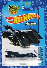 New Hot Wheels Batman The Brave and The Bold Batmobile Die Cast Car MISP USA