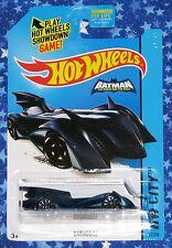 Hot Wheels Batman The Brave and The Bold Batmobile Die Cast Car New MISP