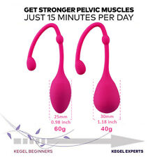 Kegel Exerciser Weights Pelvic Floor Ben Wa Balls Vaginal Bladder Control Kegels