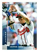 Chipper Jones #34 (1997 Donruss) Baseball Card, Atlanta Braves, HOF