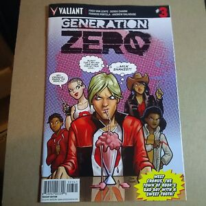 GENERATION ZERO #3 CVR D 1:20 Variant PARENT NM 9.4 Near Mint