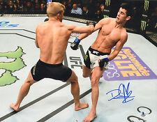 DOMINICK CRUZ SIGNED AUTO'D 11X14 PHOTO BAS COA UFC 199 WEC CHAMP VS DILLASHAW G