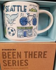 "Starbucks ""Been There"" Series SEATTLE Cup / Mug Brand New Just Released MIB"