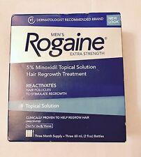 Rogaine Topical Solution Hair Regrowth Extra Strength (Mens) - 9 MONTHS SUPPLY