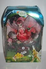 Disney Fairies Porcelain Collector's Doll Tinker Bell Rosetta Brass Key Rare