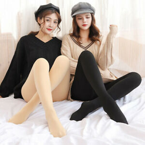 Winter Pants Warm Fleece Pantyhose for Lady Women Thermal Stockings Tights