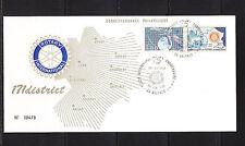 FRa/ grande enveloppe   rotary international  26 Valence  1980