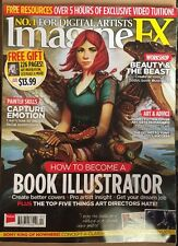 Imagine FX Become Book Illustrator Painter Skills Advice Apr 2015 FREE SHIPPING!