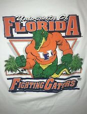 VTG 80s 90s Florida Gators T-Shirt Mens S White Single Stitch NCAA UF