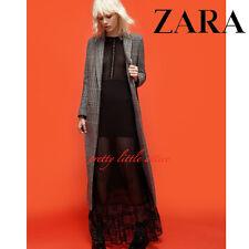 Zara Victorian Lace Dress New Women Maxi Black Long Evening Sexy Boho S Bloggers