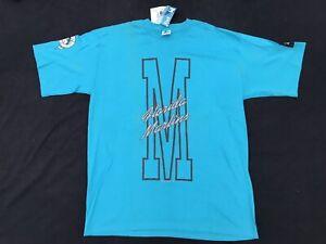 NWT 1993 Vintage Florida Marlins T Shirt STARTER Large Single Stitch