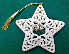 Lenox Ornament  2007 Annual Star of Lace with Date Tag  China New in Box! (OL18)