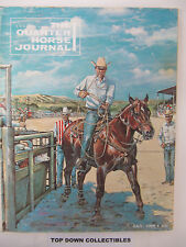 The Quarter Horse Journal   July  1969      Robert M. Lee, Of New Mexico