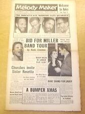 MELODY MAKER 1957 DECEMBER 7 CONNIE KAY JOHN LEWIS JAZZ BIG BAND SWING