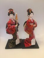 Rare! Vintage Lot Of 2 Japanese Tokyo Dolls. Great Condition!