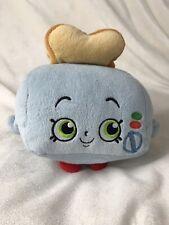 Shopkins Teddy Plush Blue Moose Toys Toast Toaster